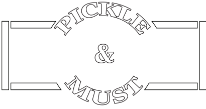 pickle and must logo