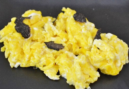 Truffled Breakfast With Fresh Truffles Available