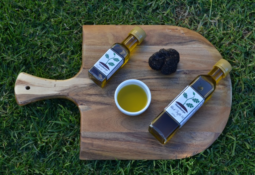 Truffle Oil Board Grass